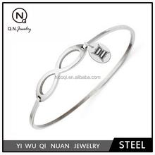 Drexel Dragons Steel Infinity Bracelet