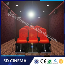 Lechuang Hydraulic/Electric Games Children'S Playground Equipment 5D Cinema Simulator