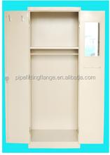 Double door metal furniture wardrobe closet armoire,knock-down wardrobes