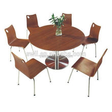 design buffet dining table chair fast food wood table chairs cheap restaurant furniture
