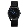 Hot Alibaba Express Woven Stainless Steel Band Japan Movt Wrist Watch