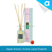 2015 NEWest rattan stick diffuser with aluminum cap/scented diffuser/fragrance diffuser for room freshener