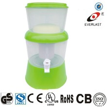 2015 hot-selling 7.5L ceramic filter mineral water pot/personal water filter