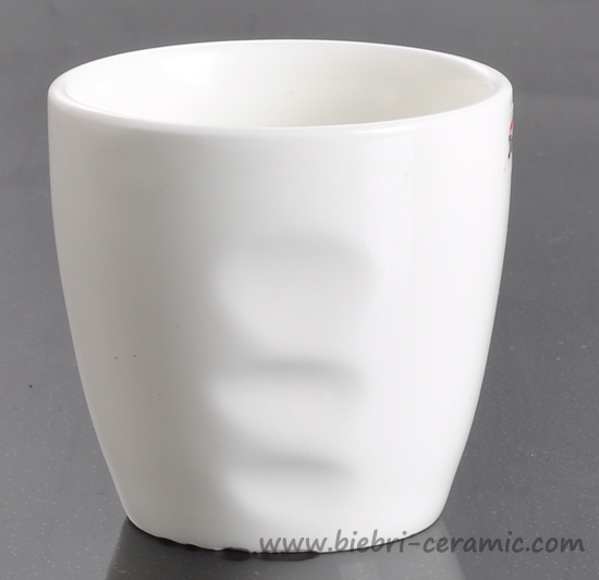 Plain White Logo Decal Customized Ceramic Coffee Mugs Cups