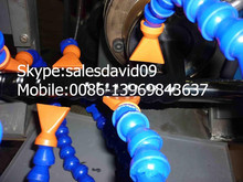 HDPE plastic spiral hose cable producing equipment