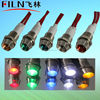 220v green copper material signal sos light with wire LED 500000h