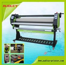 New type 1.6m wide format hot&cold laminator laminating machine