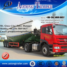 China shandong qingdao fabricante de cimento a granel tanque portadores caminhão de transporte semi-reboque, amplamente utilizado de cimento a granel caminhão tanque