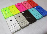 U&M 2014 cellphone protective chocolate lattice tpu case for iphone 5/5s