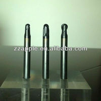 high quality tungsten carbide round nose end mill