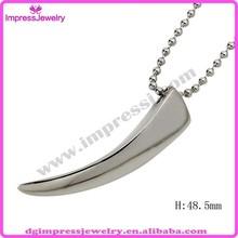IJD2049 custom design stainless steel wholesale arrowheads pendant
