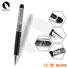 SHIBELL metal material custom floating liquid pen with led