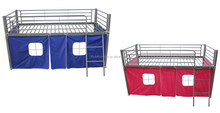 kids bunk bed with tent princess bed KB1 with EN747 standard