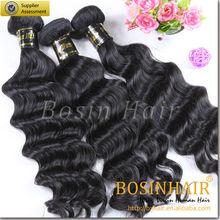 popular product 100% human hair brazilian loose wave hair