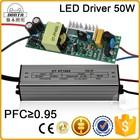 50w led driver 1500ma 10 em série 5 em paralelo capaz de ce