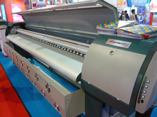 3.2m 4 or 8 spt 510 Heads Large Format Outdoor Solvent Printer