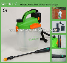 (4243) garden electric airless mist tank sprayer 5L 12v, graco airless paint sprayer