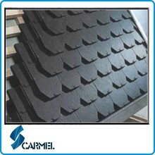 China best price fish scale slate roof tiles