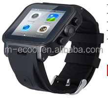 3G smart waterproof watch phone with dual core, GPS and 5M camera