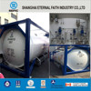 LOX/LIN/LAR/LCO2 / LNG/LC2H4 ISO Tank Container For Storage Tank Container