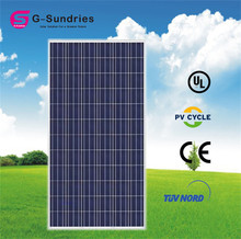 Dependable performance 25 years warranty poly 130w solar panels