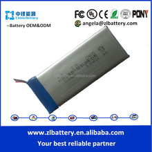 Alibaba best battery supplier custom shape battery 134095 3.7v 2800mAh 5000mAh POS machine battery