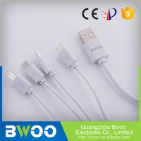Custom Made Rohs Certified Reliable Multifunction Mobile Phone Usb Cable Connectors