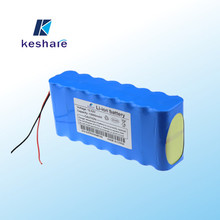 A quality recharge 18650 li-ion battery pack 12Ah for solar