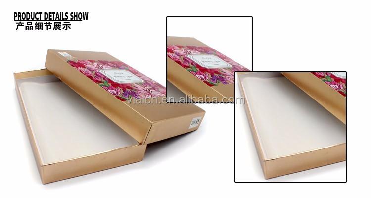 pas cher bo tes en carton personnalis conception mouchoir cadeau bo te de papier caisses d. Black Bedroom Furniture Sets. Home Design Ideas