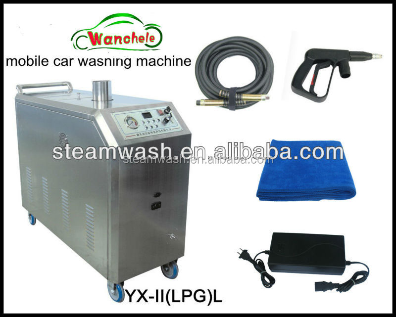 Self Service Steam Car Wash
