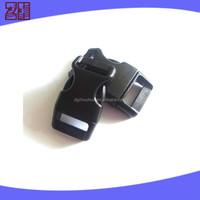 black color plastic pet collar buckle ,plastic side release buckle,pet collar breakaway buckle for pet