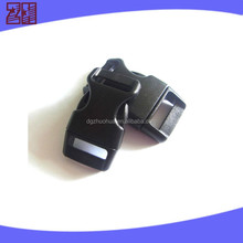 black color plastic pet collar buckle ,plastic side release buckle,pet collar breakaway buckle for pet