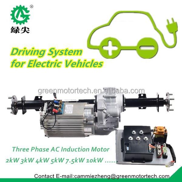 Regenerative braking controller motor kit for electric for Dc motor controller for electric car