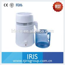 Plástico y acero inoxidable médica destilador de agua