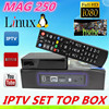 IPTV/OTT set top box Mag 250 include arabic iptv box & turkish iptv account MAG250 hot sale in Morocco