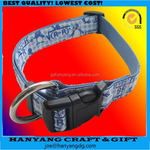 Top Sales Two In One Custom Nylon Dog Collar