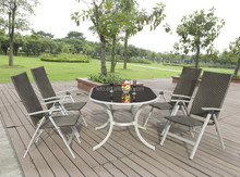 metal furniture sets for home garden used