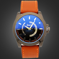 China Watch Shop Newest Design Fashion Leather Sport Watch, Wholesale Promotional Low Price Men Watch