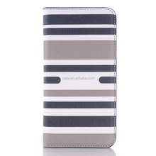 Alibaba trending hot products,cellphone accessories for samsung galaxy s6,stripe pattern case for samsung galaxy s6 with stand