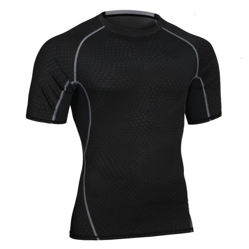 Custom Fitness Apparel Men's Gym Sport T Shirt Factory 8