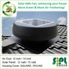 energy-saving 12w dc solar attic fan industrial exhaust fan