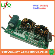 AC DC12-24V 50W 1500ma constant current open frame led driver for led light power supply