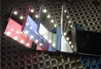 Latest Women Fashion Led Light Make Up Mirror Foldable Mini Pocket Mirrors