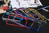 Ultra Thin Aluminum Mobile Phone Case Bumper For Samsung note2 With Metal Frame