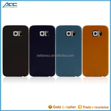 2016 new casings for electronics PU leather phone case for Samsung Galaxy S6