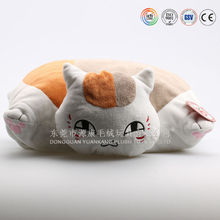 Wholesale cheap custom plush animal cat shaped cushion