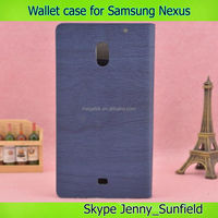 Phone case phone accessories Leather wallet case for samsung Galaxy Nexus i9250