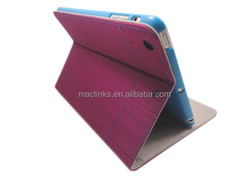 Tablet smart leather case for ipad mini