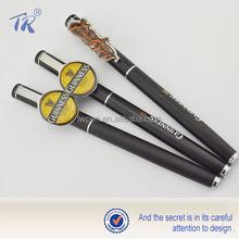 Pen Clip Accept Customization Promotional Black Roller Pen