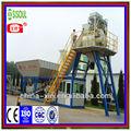 móvil de procesamiento por lotes de hormigón planta de cemento mezclador concreto